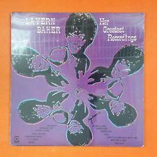 LA VERN BAKER Her Greatest Recordings SD33372 LP Vinyl SEALED