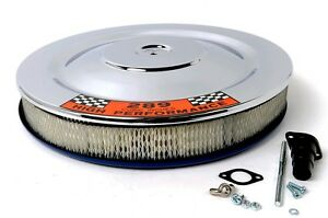 "New 1965-1973 HIPO Air Cleaner Shelby Mustang Fairlane Falcon 289 302 14"" Chrome"
