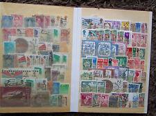 Händlersortiment Sammlung Lagerbuch Konvolut Briefmarken alle Welt gest. [1]