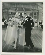 Ginger Rogers Dancing with Fred Astaire Carefree Vintage Photo 1938 John Miehle