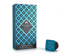 "Selamlique Turkish Coffee Capsules ""Traditional,Dark Roast,Decaff,Cardamon"""
