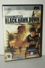 DELTA FORCE BLACK HAWK DOWN GIOCO USATO PC DVD VERSIONE ITALIANA GD1 54307