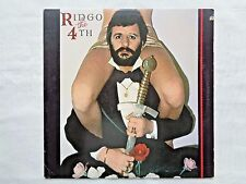Ringo Starr Ringo The 4th 1977 Atlantic SD-19108 1st Dennis King H1/H1 Press NM