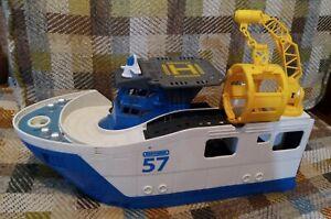 Matchbox Mission Marine Rescue Shark Boat BFN57 Mattel 2013