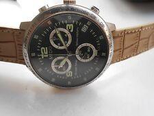 5865a5a3ab1 Vintage Ss Swiss Sapphire Mido Ocean Star Quartz Relógio De Pulso Masculino  Cron.