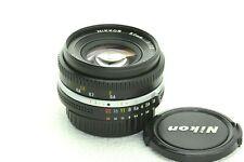 Nikon Nikkor 50mm f/1.8,  AIS, MF, GUT