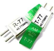 RC 40 MHZ 40.770 AM Crystal TX & RX Transmitter & Receiver Crystals 40MHZ