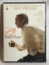 12 Years A Slave Academy Award Winner Best Picture New Sealed DVD