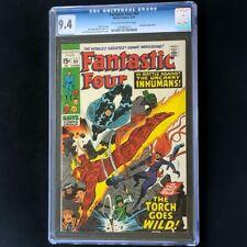 Fantastic Four #99 (1970) 💥 CGC 9.4 💥 Inhumans Appearance! Marvel Comic