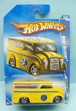2397 HOT WHEELS / CARTE US / MODIFIED RIDES 2009 / DAIRY DELIVERY JAUNE 1/64