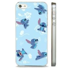 Lilo Stitch Disney Aloha Pattern CLEAR PHONE CASE COVER fits iPHONE 5 6 7 8 X