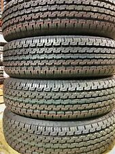 4 New Premium Cargo Master ST205/75R15 D 8 Ply Steel Belted Radial Trailer Tire