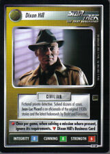 STAR TREK CCG HOLODECK ULTRA RARE CARD DIXON HILL