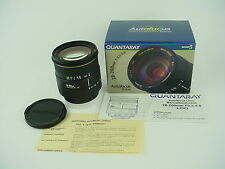 QUANTARAY (manuf by SIGMA) AF 28-200mm f/3.5-5.6 LDO MACRO ZOOM LENS for Minolta