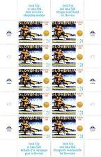 SLOVENIA 2000 Summer Olympic Games SIDNEY GOLD MEDALS Mi 326-327 MNH, mini sheet