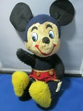 Antique Disney Character Music Box Mickey Mouse - Plays Mickey Mouse Club song!