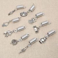 Women Dreadlock Hair Beads Spiral Spring Braid Hair Accessories Jewelry 5pcs