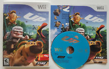 NINTENDO WII VIDEO GAME DISNEY PIXAR THE MOVIE UP COMPLETE WITH FREE SHIPPING @@