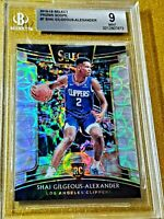 2018-19 SHAI GILGEOUS ALEXANDER Rookie Select Concourse Scope #7 BGS Mint RC