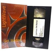 Light Wave 3D Get Started Vhs Video Tape Used Vg