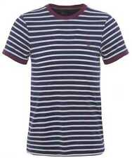 Fred Perry Cotton Basic Striped T-Shirts for Men