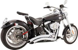 Freedom Sharp Curve Radius Exhaust Chrome HD00242 Made In USA