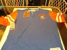 New York Islanders Nhl Team apparel Henley shirt by Mitchell & Ness M