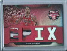 Derrick Rose 2015-16 Totally Certified *EPIX Double Patch* /10
