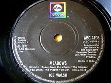 "JOE WALSH - MEADOWS  7"" VINYL"