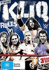 WWE The KLIQ RULES BRAND EW 3DVD SET! FREE POST!
