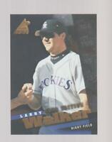 1998 Pinnacle Inside Club Edition #33 Larry Walker card, Colorado Rockies HOF