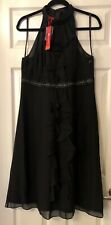 Ladies Black Monsoon Dress Size 16