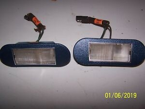 1972 LINCOLN MARK IV REAR SEAT COURTESY LAMPS