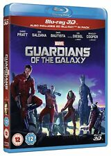 Guardians of the Galaxy Volume 1 3D Blu-Ray 3D + 2D BRAND NEW Free Ship