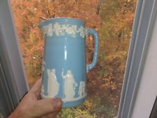"""New ListingWedgwood queensware Cream On Lavender Shell 6"""" Pitcher Mint Condition !"""