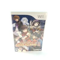 Castle of Shikigami III (Nintendo Wii, 2006) Complete w/ Manual Tested & Working
