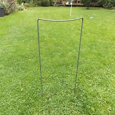 """9 Extra Tall 36""""x16"""" Handmade Victorian Style Plant Supports in 5/16"""" Iron Bar"""