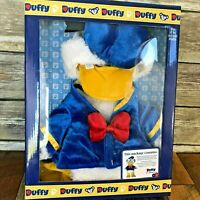 "NEW Disney Parks Duffy Bear 17"" Donald Duck Costume Outfit Sailor"