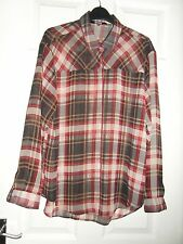 Checked Long Sleeve Casual NEXT Tops & Shirts for Women