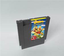 Flintstones The Surprise at Dinosaur Peak 72Pins 8Bit Cartridge For NES Nintendo