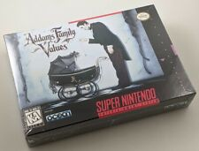 Super Nintendo SNES - Addams Family Values - New Factory Sealed NICE