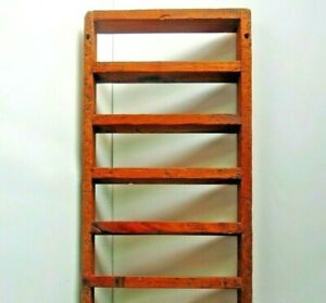 """Vintage Wall Hanging  Display Rack 35"""""""