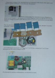 KIT REPARATION CARTE  INDUCTION BRANDT SAUTER DE DIETRICH AS0021115OU 72X9732