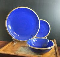 Crate & Barrel Oasis Stoneware Dinner Plate, Saucer or Cereal Bowl Sold by Piece