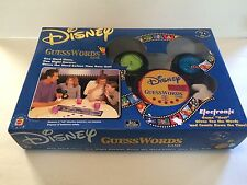 Disney GuessWords Electronic Game **Two Levels of Play for Ages 6 to Adult!