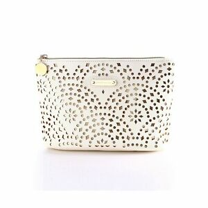 Makeup Bag, Wuhua Gold Pattern Cosmetic Bag with Zipper, Toiletry/Travel Bag ...