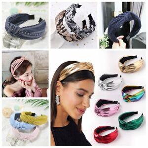 Women's Girl Hairband Twisted Knot Headband Headwrap Hair Band Hoop Accessories