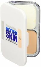 Maybelline Superstay Better Skin Powder Puder Foundation Make Up 10 Ivory Ivoire