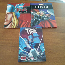 3 X Marvel Thor Hardcover Comic Books 2013