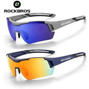 ROCKBROS Cycling Polarized Sunglasses Outdoor Sports Running MTB Bike Glasses